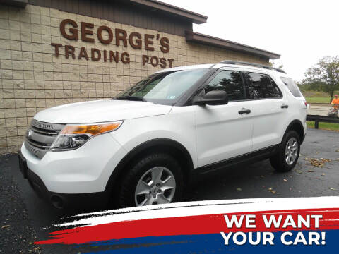 2014 Ford Explorer for sale at GEORGE'S TRADING POST in Scottdale PA