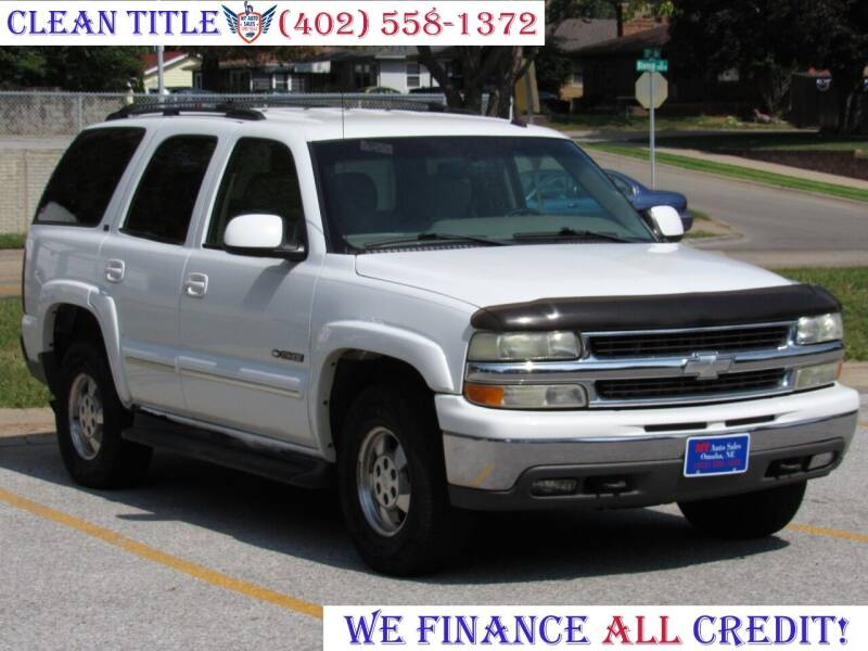 2002 Chevrolet Tahoe for sale at NY AUTO SALES in Omaha NE