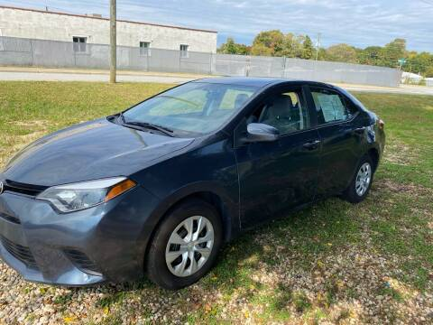 2016 Toyota Corolla for sale at Rodeo Auto Sales Inc in Winston Salem NC