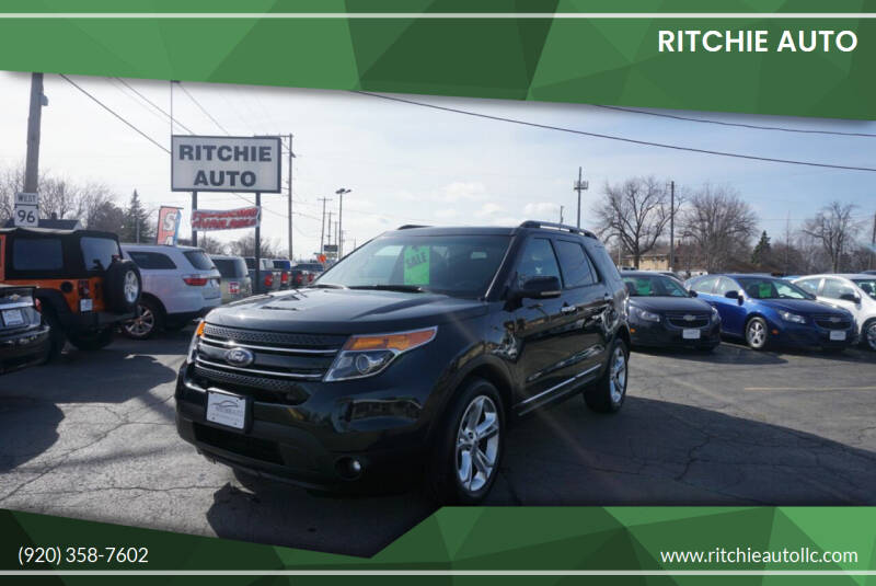 2013 Ford Explorer for sale at Ritchie Auto in Appleton WI