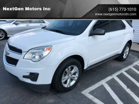 2014 Chevrolet Equinox for sale at NextGen Motors Inc in Mt. Juliet TN