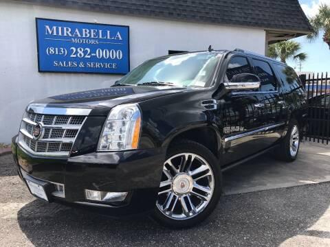 2014 Cadillac Escalade ESV for sale at Mirabella Motors in Tampa FL