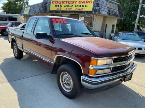 1997 Chevrolet C/K 1500 Series for sale at Courtesy Cars in Independence MO