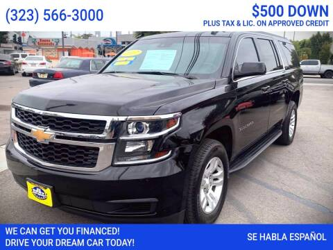 2017 Chevrolet Suburban for sale at Best Car Sales in South Gate CA