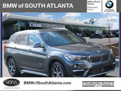 2018 BMW X1 for sale at Carol Benner @ BMW of South Atlanta in Union City GA