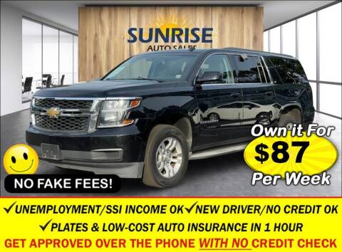 2015 Chevrolet Suburban for sale at AUTOFYND in Elmont NY