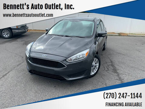 2015 Ford Focus for sale at Bennett's Auto Outlet, Inc. in Mayfield KY