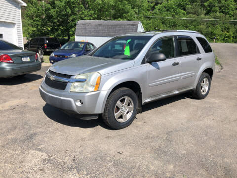 2005 Chevrolet Equinox for sale at CENTRAL AUTO SALES LLC in Norwich NY