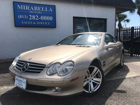 2003 Mercedes-Benz SL-Class for sale at Mirabella Motors in Tampa FL