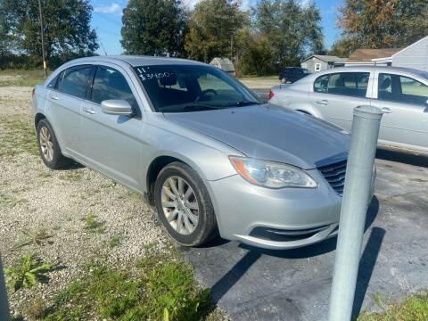 2011 Chrysler 200 for sale at HEDGES USED CARS in Carleton MI