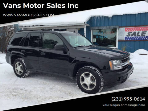 2006 Chevrolet TrailBlazer for sale at Vans Motor Sales Inc in Traverse City MI