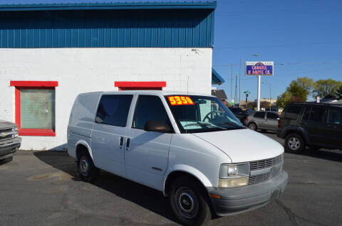 1998 Chevrolet Astro Cargo for sale at CARGILL U DRIVE USED CARS in Twin Falls ID