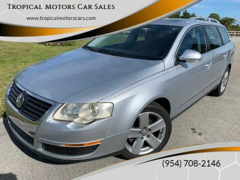 2009 Volkswagen Passat for sale at Tropical Motors Car Sales in Deerfield Beach FL