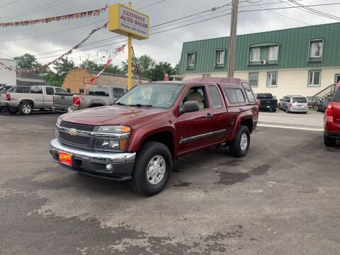 2008 Chevrolet Colorado for sale at Ultimate Auto Sales in Crown Point IN