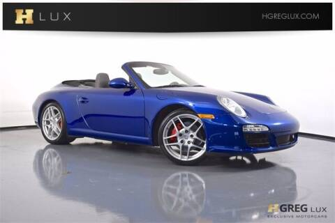 2009 Porsche 911 for sale at HGREG LUX EXCLUSIVE MOTORCARS in Pompano Beach FL