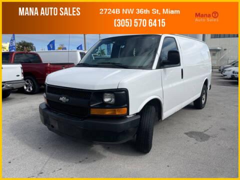 2015 Chevrolet Express Cargo for sale at MANA AUTO SALES in Miami FL
