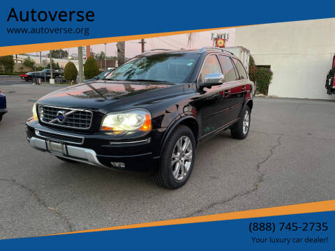 2013 Volvo XC90 for sale at Autoverse in La Habra CA
