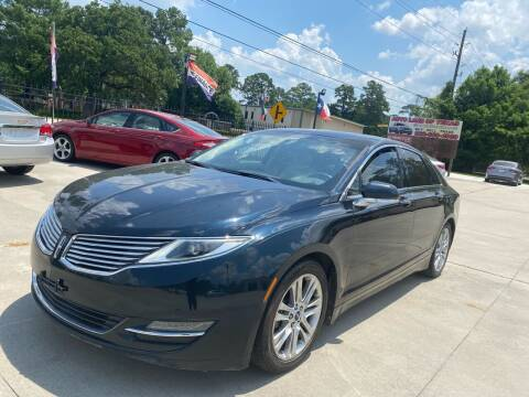 2014 Lincoln MKZ for sale at Auto Land Of Texas in Cypress TX