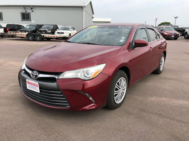 2015 Toyota Camry for sale at De Anda Auto Sales in South Sioux City NE