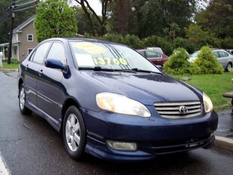 2003 Toyota Corolla for sale at Motor Pool Operations in Hainesport NJ