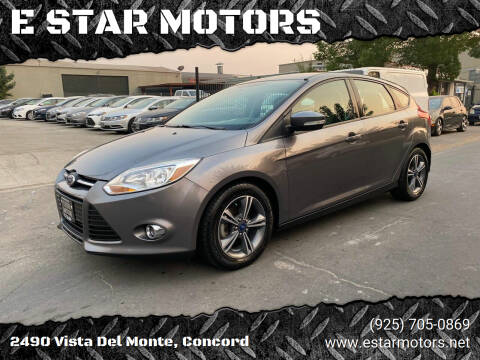 2014 Ford Focus for sale at E STAR MOTORS in Concord CA