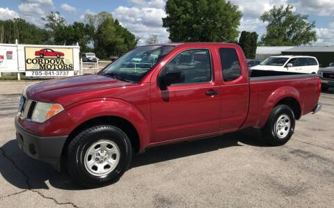 2006 Nissan Frontier for sale at Cordova Motors in Lawrence KS