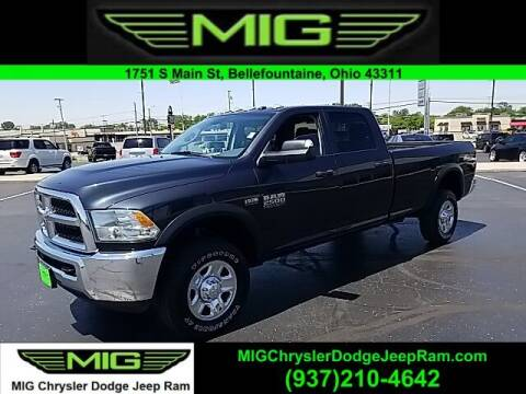 2018 RAM Ram Pickup 2500 for sale at MIG Chrysler Dodge Jeep Ram in Bellefontaine OH
