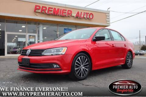 2016 Volkswagen Jetta for sale at PREMIER AUTO IMPORTS - Temple Hills Location in Temple Hills MD