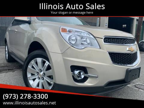 2011 Chevrolet Equinox for sale at Illinois Auto Sales in Paterson NJ