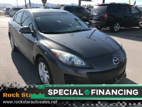 2012 Mazda MAZDA3 for sale at Rock Star Auto Sales in Las Vegas NV