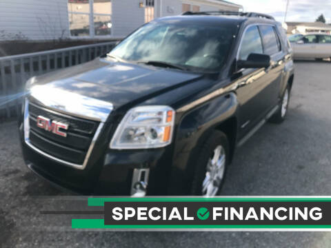 2015 GMC Terrain for sale at Strait-A-Way Auto Sales LLC in Gaylord MI