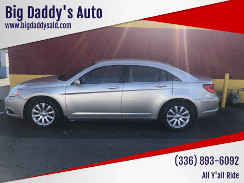 2013 Chrysler 200 for sale at Big Daddy's Auto in Winston-Salem NC