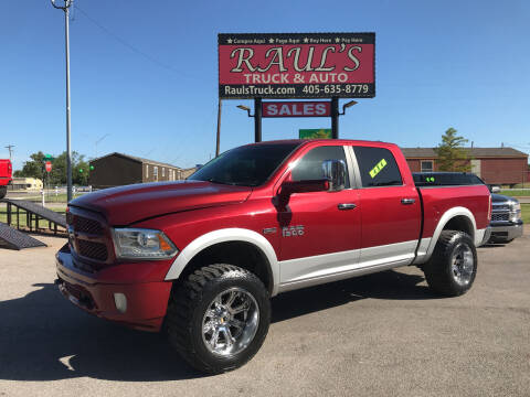 2014 RAM Ram Pickup 1500 for sale at RAUL'S TRUCK & AUTO SALES, INC in Oklahoma City OK