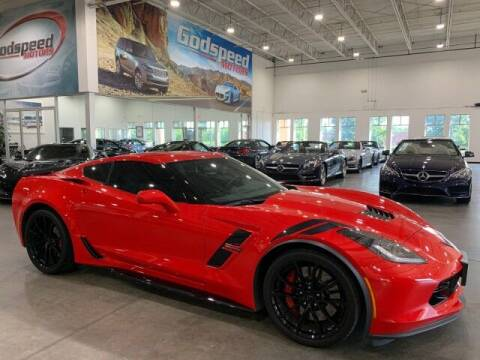 2018 Chevrolet Corvette for sale at Godspeed Motors in Charlotte NC