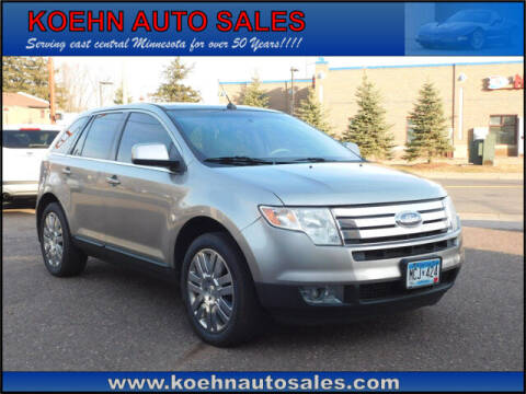 2008 Ford Edge for sale at Koehn Auto Sales in Lindstrom MN