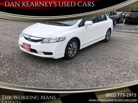 2010 Honda Civic for sale at DAN KEARNEY'S USED CARS in Center Rutland VT