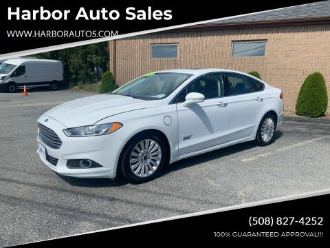 2015 Ford Fusion Energi for sale at Harbor Auto Sales in Hyannis MA