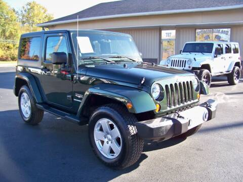 2011 Jeep Wrangler for sale at RPM Auto Sales in Mogadore OH