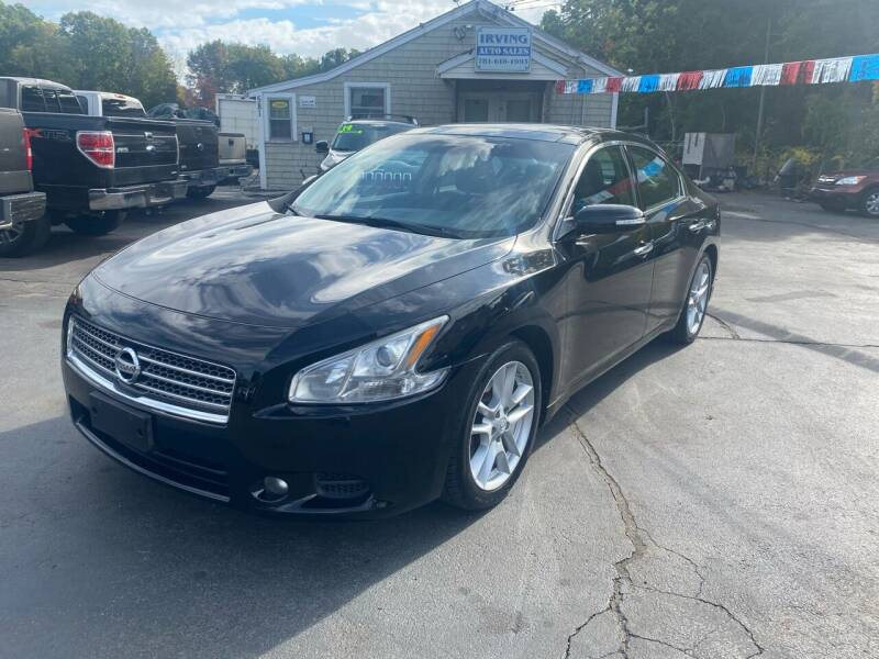 2010 Nissan Maxima for sale at Irving Auto Sales in Whitman MA