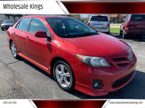 2011 Toyota Corolla for sale at Wholesale Kings in Elkhart IN