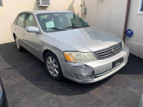 2003 Toyota Avalon for sale at Park Avenue Auto Lot Inc in Linden NJ