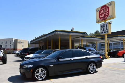 2012 BMW 5 Series for sale at Houston Used Auto Sales in Houston TX