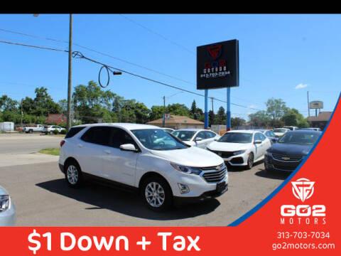 2019 Chevrolet Equinox for sale at Go2Motors in Redford MI