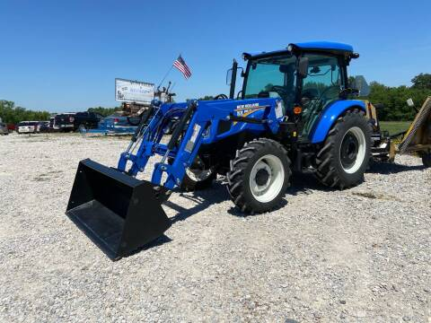2019 New Holland Workmaster 75 W/Cab & Loader