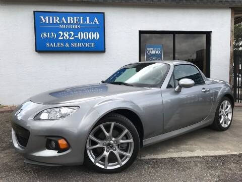 2015 Mazda MX-5 Miata for sale at Mirabella Motors in Tampa FL