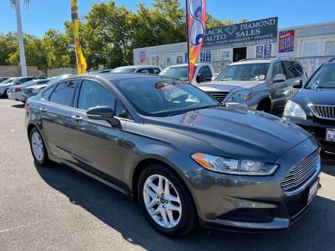 2016 Ford Fusion for sale at Black Diamond Auto Sales Inc. in Rancho Cordova CA