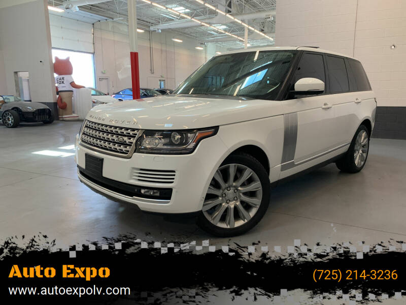 2015 Land Rover Range Rover for sale at Auto Expo in Las Vegas NV