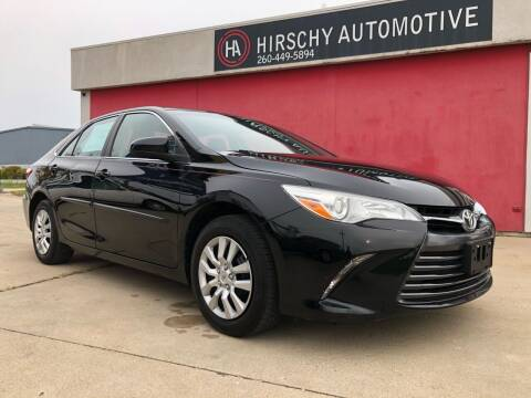 2016 Toyota Camry for sale at Hirschy Automotive in Fort Wayne IN