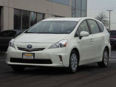 2012 Toyota Prius v for sale at Loudoun Used Cars - LOUDOUN MOTOR CARS in Chantilly VA