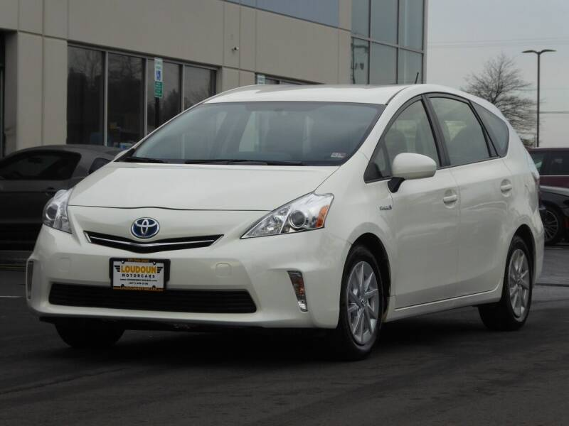 2012 Toyota Prius v for sale at Loudoun Motor Cars in Chantilly VA